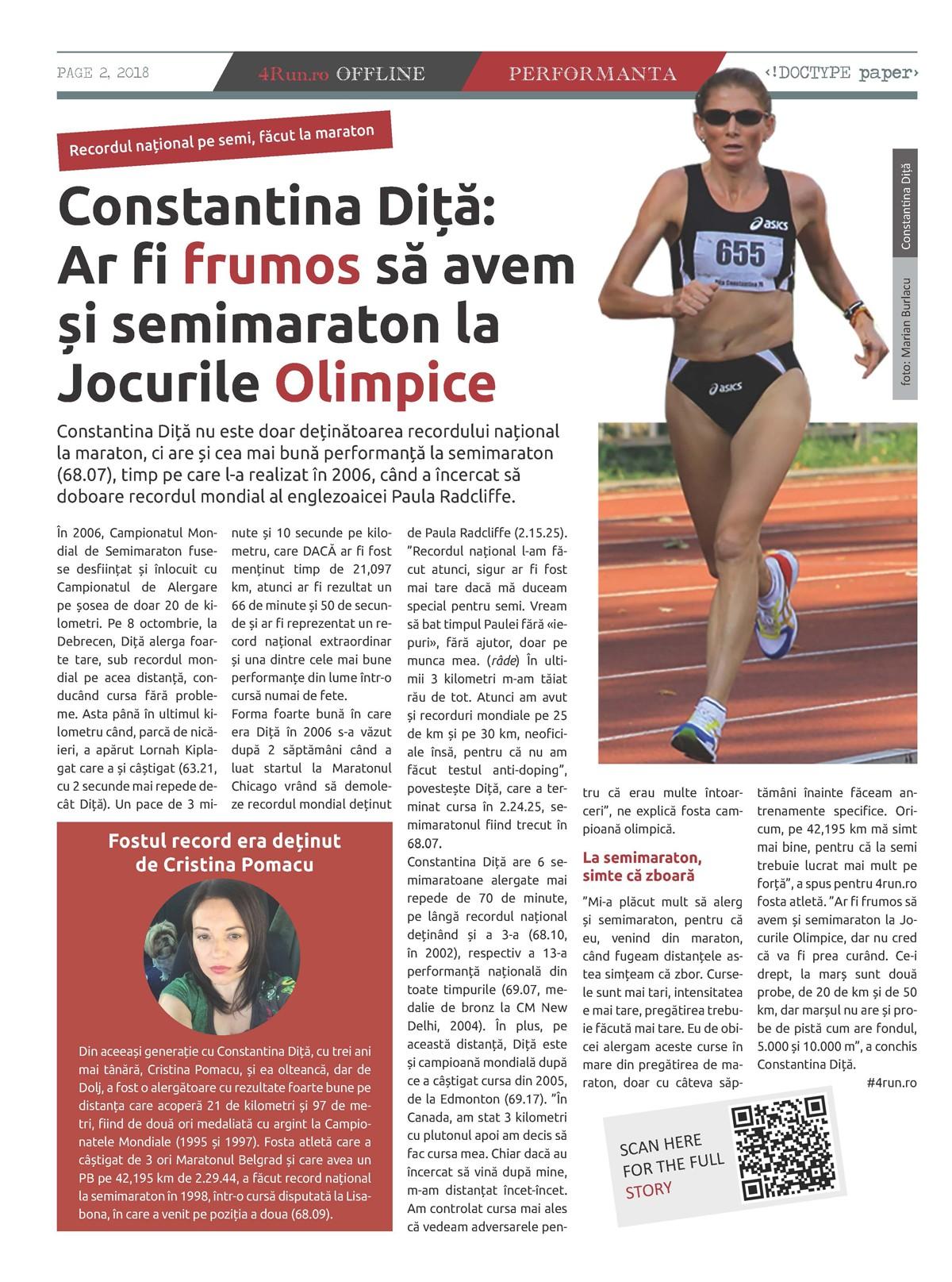 Pagina 2, ziarul 4run.ro OFFLINE