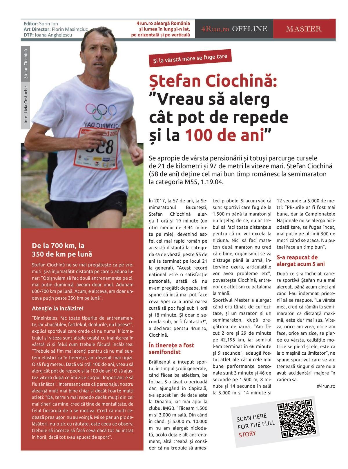 Pagina 8, ziarul 4run.ro OFFLINE