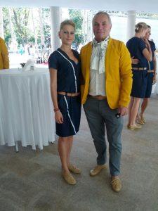 Ancuța Bobocel, alături de antrenorul Marin Istrate