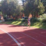 Bianca Răzor, la antrenament