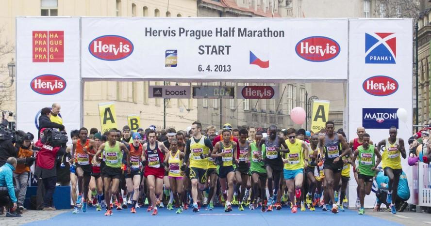 Start la Semi-maratonul de la Praga