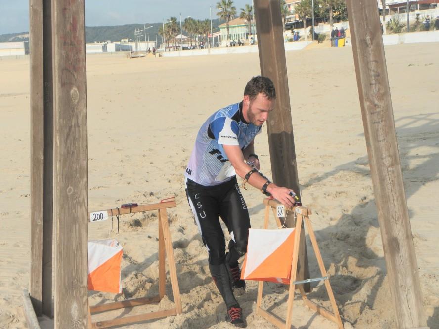 Radu Milea, sprint pe plajă