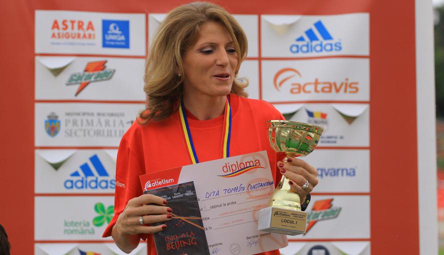 Constantina Diță, campioană națională // fotografii: Marian Burlacu
