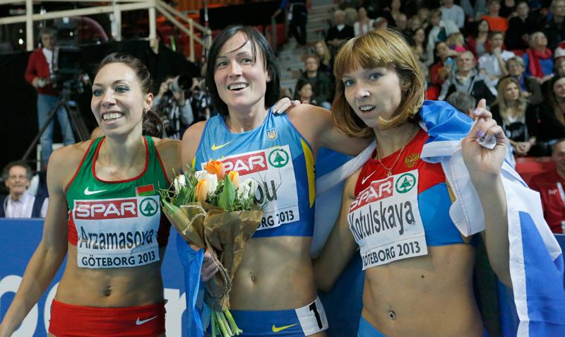 Natalia Lupu, fericită la final de cursă