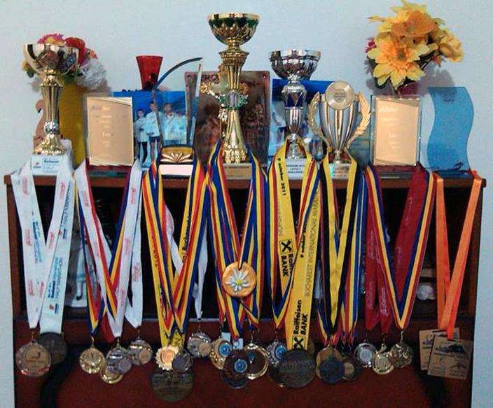 Medaliile și cupele lui Daniel Lupulescu