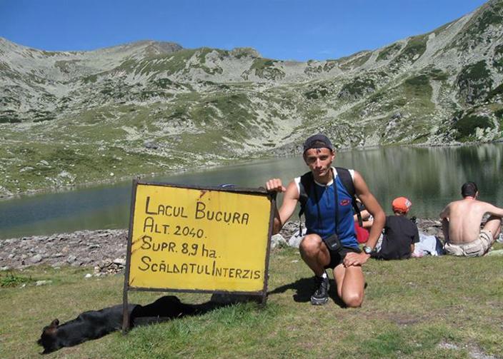 Daniel Lupulescu, la munte