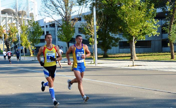 Eugen Șorop și Daniel Lupulescu, la Campionatul Național de Maraton