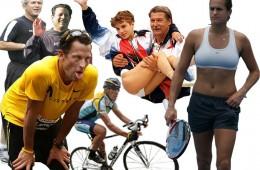 Amelie Mauresmo și Lance Armstrong