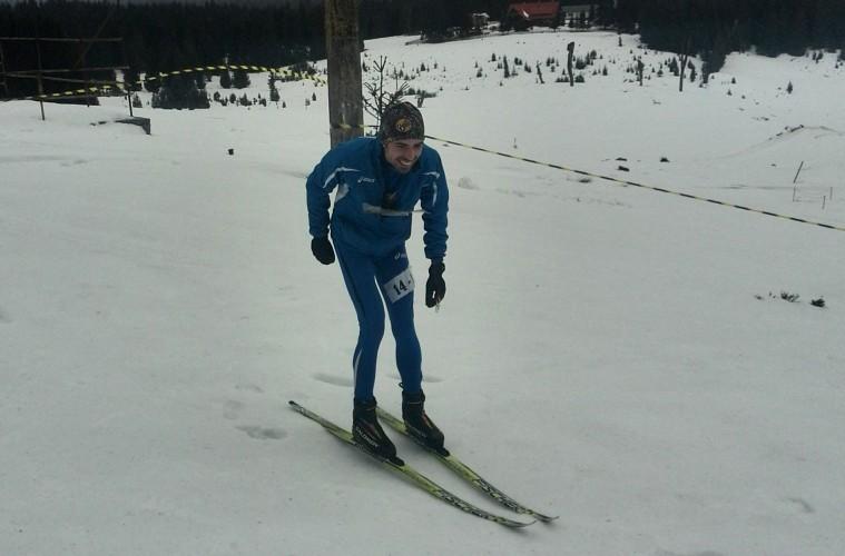 Ionuț Zincă, orientare pe schiuri