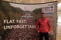 Ciobanu, la maratonul Berlin