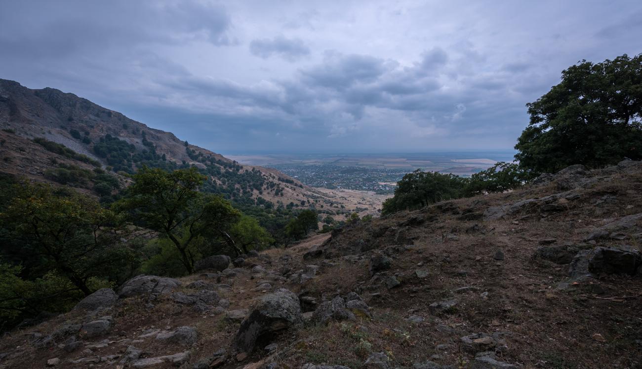 Satul Greci, dinspre munte // foto: Andra Panduru