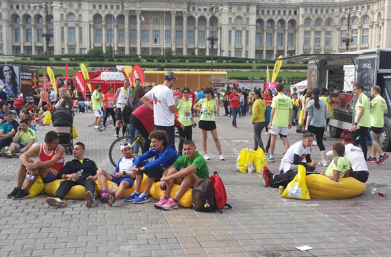 La finalul maratonului București