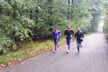 Nicolae Soare, la antrenament alături de Ionuț Betej și Cristina Negru