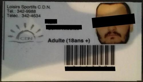 Card acces, baza sportivă ce aparține Primăriei din Montreal