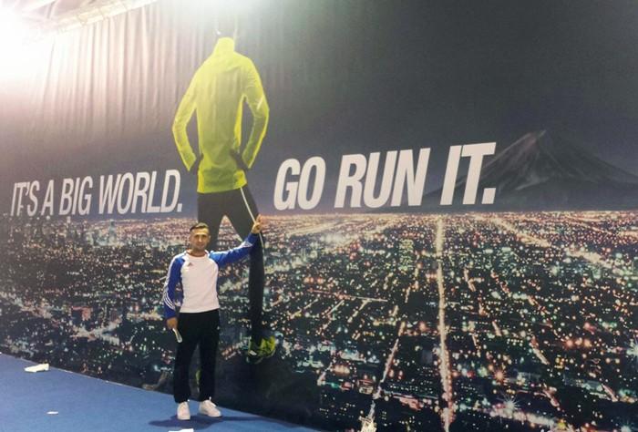 Claudiu Gorgan, la maratonul Florența