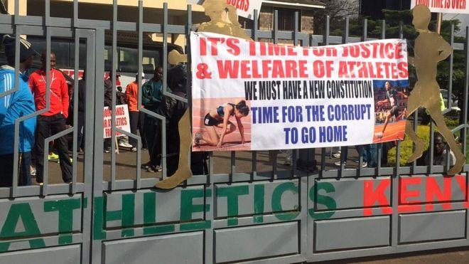 Mesajul atleților din Kenya pentru conducerea federației