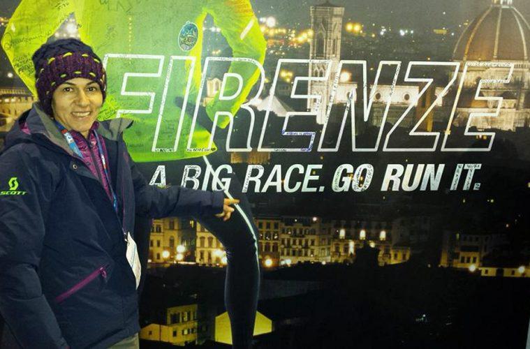 Simona Staicu, maratonul Florența (Firenze)