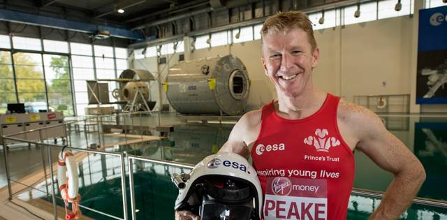 Tim Peake // Photo: London Marathon