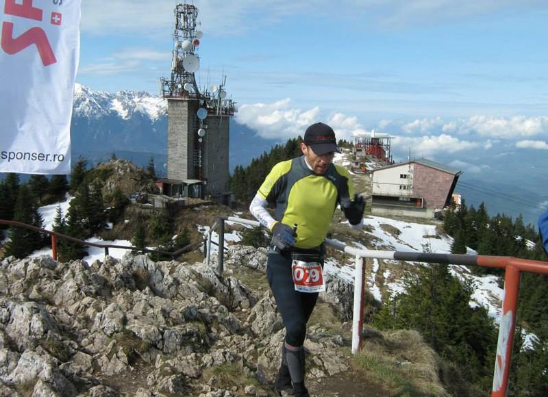 Ștefan Dan, la maratonul Brașov