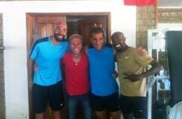 Mo Farah, în cantonament în Kenya, alături de Marius Ionescu
