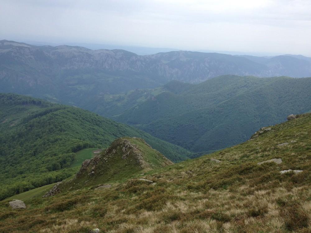 Munții Cernei, pe creastă // Fotografii: Paul Bardașu