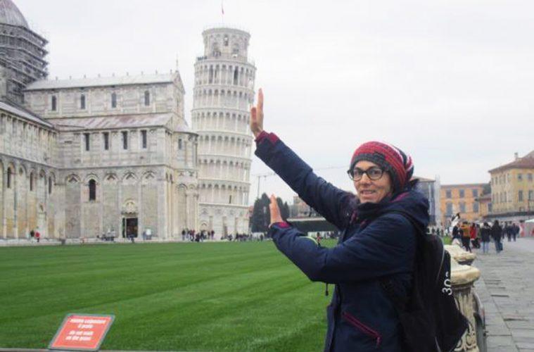 Simona Staicu, la Pisa