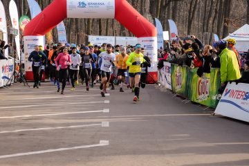 Start, Băneasa Trail Run 2015