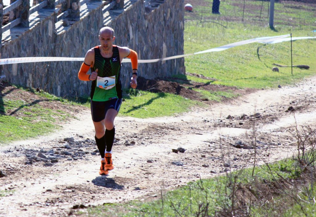 Vitalie Gheorghiță, la Alba Iulia City Race // foto: acasenii.ro