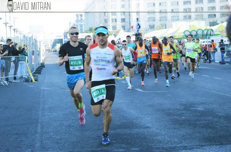 Ciprian Bălănescu și Marius Ionescu, la ștafeta Maratonului București