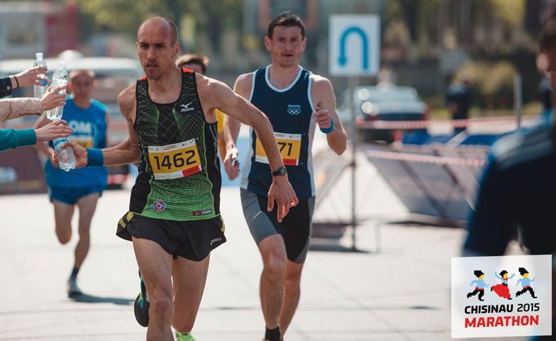 Vitalie Gheorghiță, la maratonul Chișinău