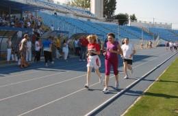 Doina Melinte și Paula Ivan, jogging