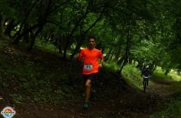 George Bulgaru la Campionatul dobrogean de Trail Run