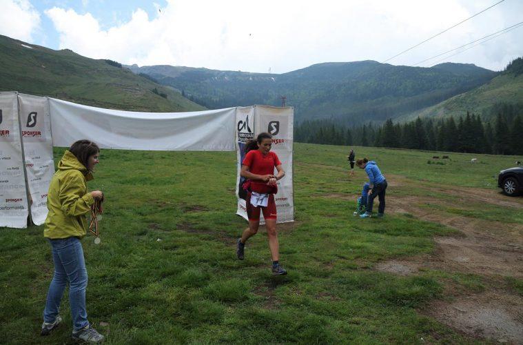 Iuliana Stroescu, finish la Atinge Omu