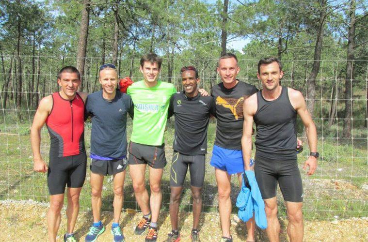 Alex Corneschi, alături de Ciprian Bălălnescu, Marius Ionescu și Ionuț Zăizan, în Portugalia