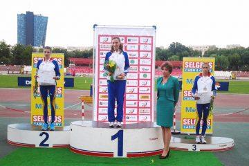 Ioana Doagă, pe podium