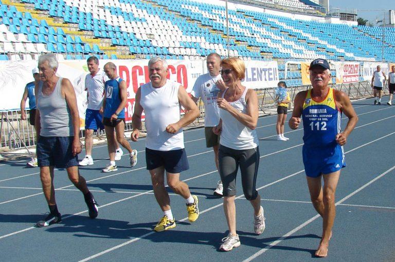 Cătălin Andreica, alergând la Constanța