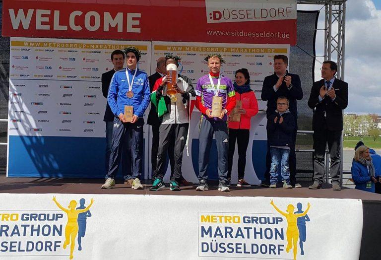 Marius Ionescu, locul 2 la Dusseldorf