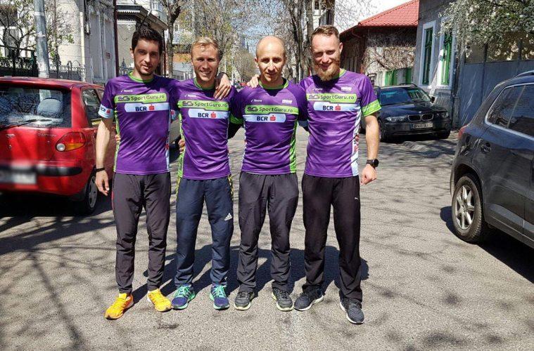 Florin Totalcă, Marius Ionescu, Petre Dumitru și Radu Milea
