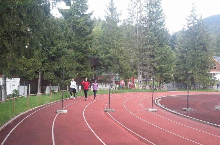 Gard pista de atletism Poiana Brașov