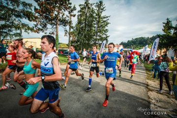 Daniel Lupulescu la Corcova Trail Race / foto: fisheye.ro