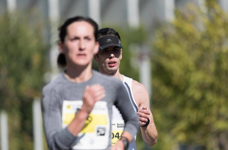 Ana Rodean, la Maratonul București / foto: Andra Panduru