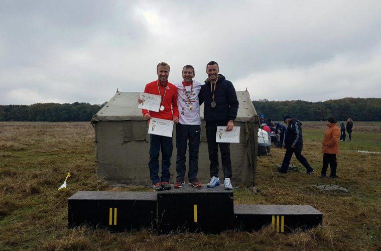 Nicolae Soare, Marius Ionescu și Andrei Ștefana, pe podium la Campionatul Național de Cros