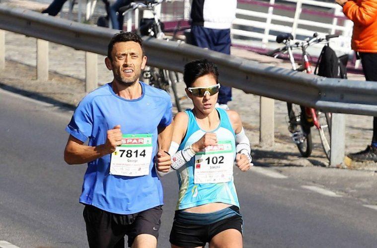 Simona Staicu, maratonul Budapesta