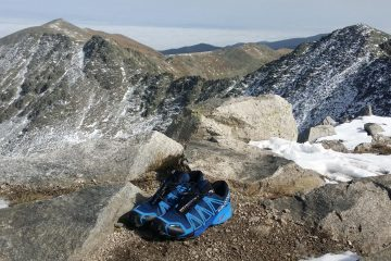 Salomon Speedcross 4 pe varful Musala, Rila, Bulgaria