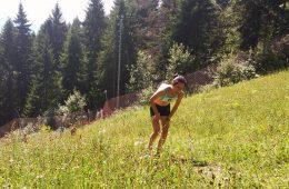 Ana Rodean, la Campionatul Național de Alergare Montană / foto: 4run.ro