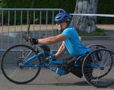 Gigel Epure, campionul din scaunul cu rotile / foto: Andra Panduru