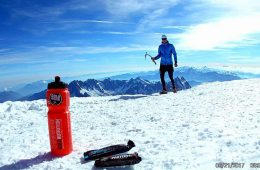 Andrei Preda pe Mont Blanc