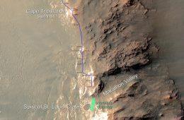 Opportunity facand maratonul pe Marte