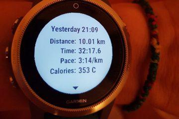 Ancuța Bobocel, 10.000m, debut