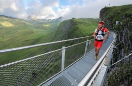 Radu Milea, la Eiger Ultra Trail 2017